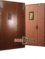 Дверь тамбурная c окошком дт 12.