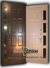 Дверь тамбурная cо стеклопакетом дт 19.
