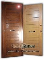 Дверь для дачи МДФ+МДФ 27.