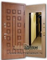 Дверь с зеркалом ДЗ 13